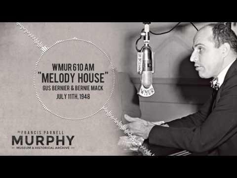 WMUR 610AM (now WGIR) Radio - July 11th, 1948: