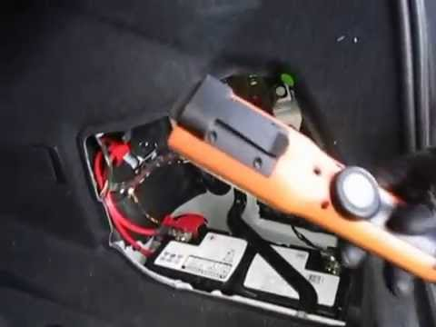 Bmw 2017 F30 328i Battery Location All Levels Under Hood