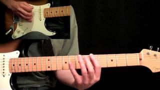 Kansas - Carry On Wayward Son Guitar Lesson Pt.1 - Main Riffs & Intro Solo