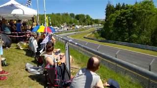 24h Rennen Nürburgring 2017 Startrunde Hatzenbach Nordschleife 2017 Video