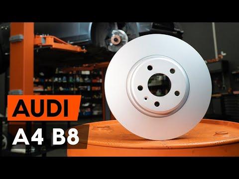 Как заменить передние тормозные диски наAudi A4 B8 Седан [ВИДЕОУРОК AUTODOC]