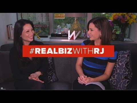Lucy Liu | Real Biz with Rebecca Jarvis | ABC News - YouTube