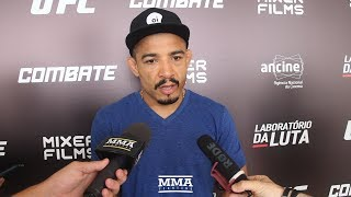 Jose Aldo Wants Lightweight Fight at UFC 231 [With Captions] - MMA Fighting