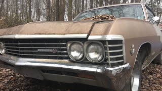 I Saved A 67 Impala SuperSport from the Woods!