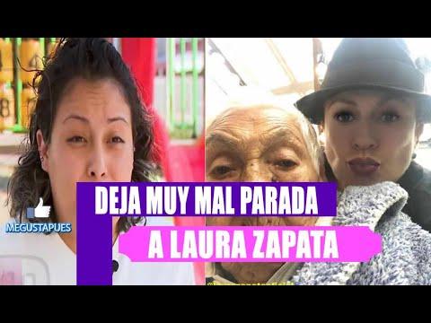 Enfermera de Doña Eva Mange da la cara y hunde a Laura Zapata