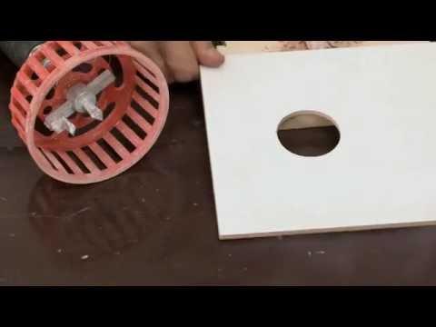 Как просверлить отверстие под трубу в керамической плитке