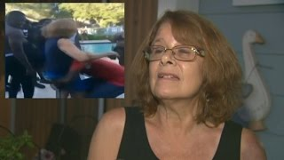 68 Year Old White Woman Slammed And Dragged Into Pool By Black Teen At Pool Party (REACTION)