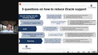 5 questions on how to reduce Oracle Support