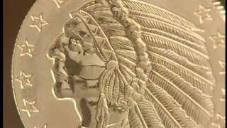 1929 Gold Indian Coin 120 Second TV Spot