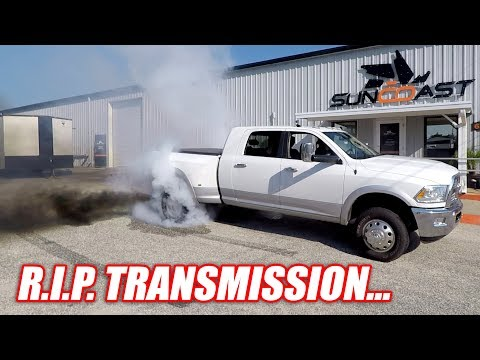 How I RUINED My Diesel's Transmission... Don't Ever Try This!
