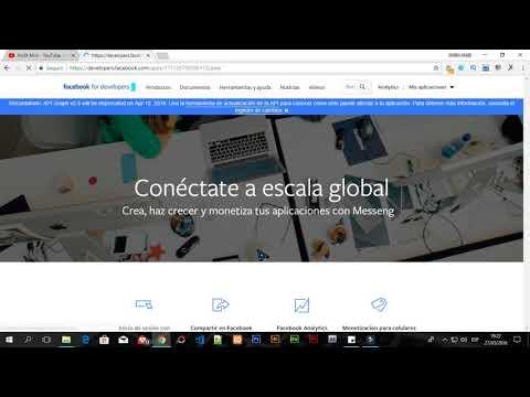 Como Crear Una API KEY DE Facebook 2018 | Facebook API Key AND App ID Generate