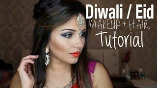 Tutorial | Indian Wedding, Diwali & Eid | Kaushal Beauty