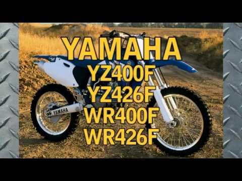 clymer manual yamaha yz400f yz426f wr400f wr426f 1998 2002 rh youtube com Yamaha Motor Diagrams Yamaha 90 Outboard Wiring Diagram