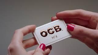 OCB White double booklet