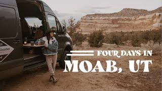 4 Days of vąn life in Moab, Utah // Vlog