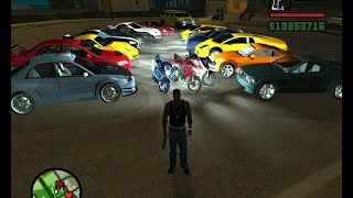 GTA San Andreas cheat infinite Heath infinite Money works for IOS and Android