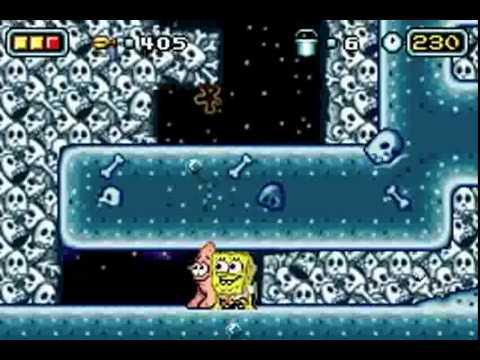 The SpongeBob SquarePants Movie (GBA) - Longplay