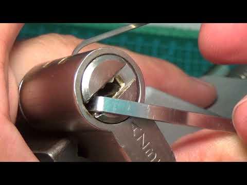 Взлом отмычками AZBE HSK  165 AZBE HSK (8+INTERACTIVE PINS DIMPLE)