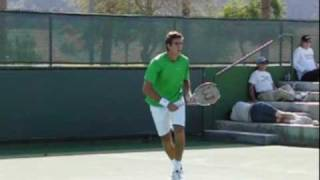 Juan Martin Del Potro Slow Motion Point Play