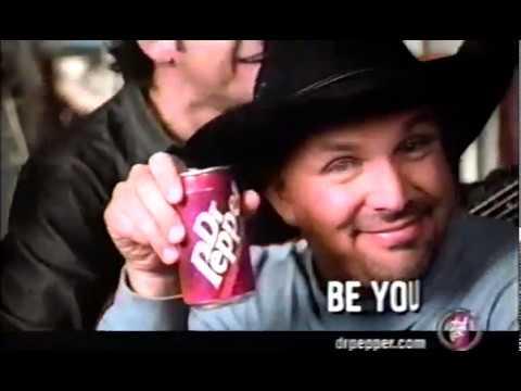 Garth Brooks Dr. Pepper 2000s Commercial (2002)