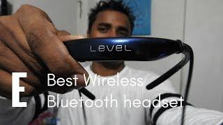 Best Wireless Bluetooth Headphones - सबसे अच्छा ब्लूटूथ हेड फोन्स - Samsung Level U in Hindi