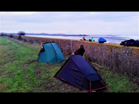 WILD CAMPING ON THE SWALE ESTUARY AND FAVERSHAM CREEK | KENT WALK
