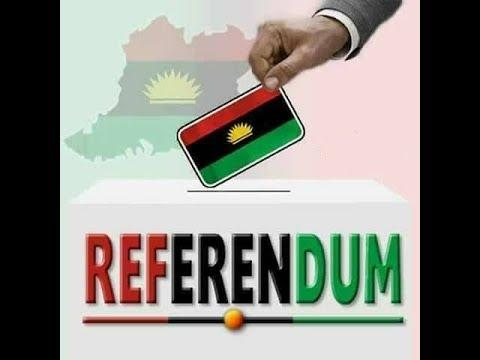 Biafra Referendum 2018