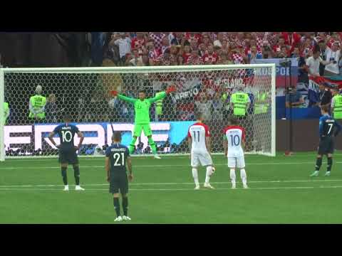 Griezmann goal / Penalty vs Croatia at Fifa world cup final 2018