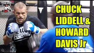 Boxing: Howard Davis Jr & Chuck Liddell at The Pit Martial Arts