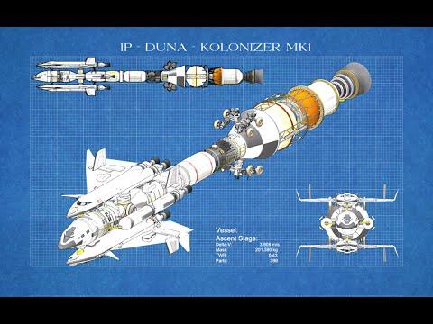 Kerbal Engineering - Huge Duna Interplanetary Vessel - 2000 subscriber special - Part 1 - Design