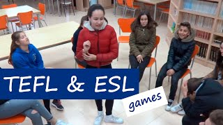 TEFL (Almost) All Fun and ESL Games