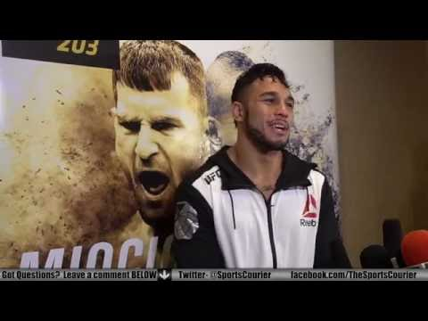 UFC 203: Brad Tavares on the Elevator Ride from Hell, Hawaiian MMA