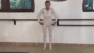 Сакральная архитектура тела занятие Натали Дроэн в студии во Франции 2007 г.