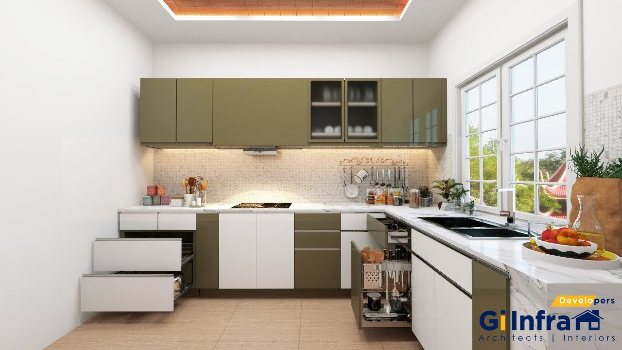 3d max vray 3 6 kitchen modeling rendering rendering for Kitchen setups interior