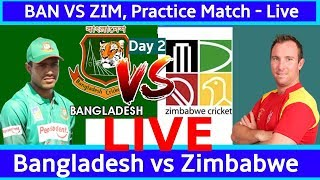 Bangladesh vs Zimbabwe, Practice Match, Day 2 - Live Cricket Score, Commentary LIVE
