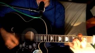 Lost In Love ~ Air Supply ~ Acoustic Cover w/ Epiphone EJ-200CE BK