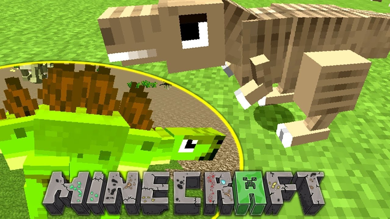 How To Get Dinosaurs in Minecraft! - Fossils & Archaeology Mod
