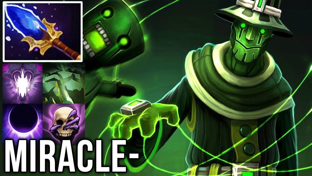 Miracle Rubick God Stealing Spell Machine Dota