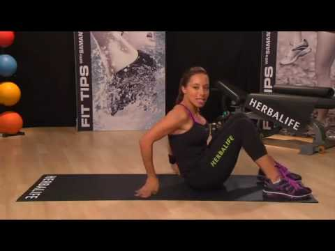 Stability exercises for more control over your body | Herbalife Fit Tips