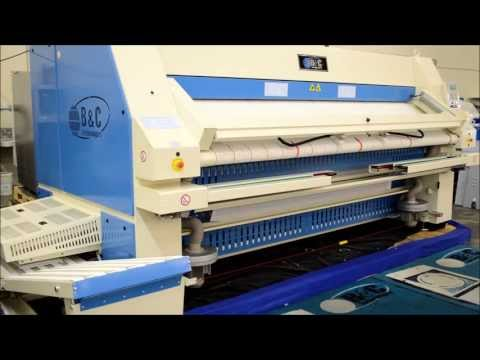 IF Series Compact Combination Feeder, Ironer, Folder, And Stacker