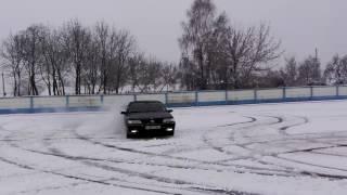 Зимний дрифт пежо 605 2.0 турбо
