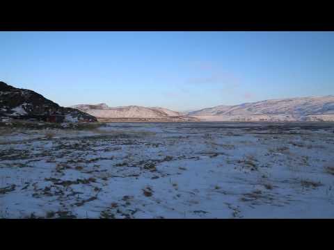 Groenland Kangerlussuaq Centre ville / Greenland Kangerlussuaq City center