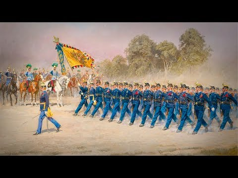 "Austro-Hungarian Empire 1867–1918 Military March ""Kärntner Gebirgsschützenmarsch"""