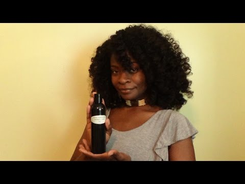 My Natural Hair Regimen Addition - Herbal Hair Oil