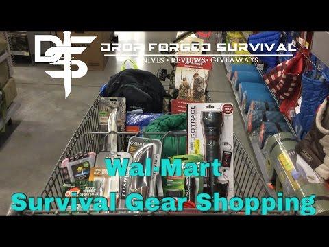 Wal-mart: EDC - Camping - and Survival Gear Shopping - Week 11