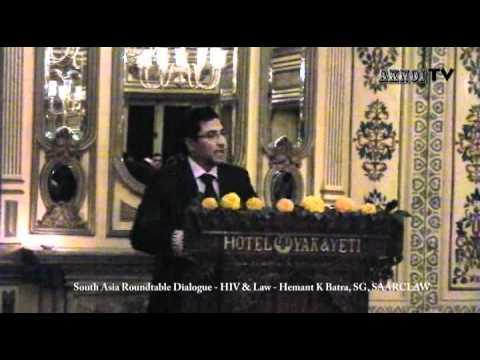 SAARCLAW Roundtable Dialogue 2011 Kathmandu - HIV & Law