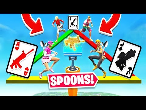 *UNVAULTED* SPOONS Card Game FOR LOOT *NEW* Game Mode In Fortnite Battle Royale