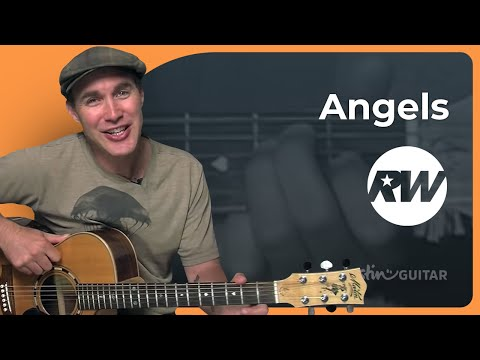 How to play Angels by Robbie Williams (Pop Guitar Lesson SB-218)