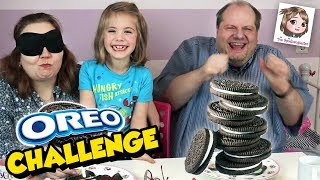 OREO CHALLENGE!!! Blind Kekse erraten! Wir testen komische Sorten! Cookie Tasting Game