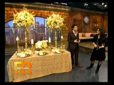 David Tutera Royal Wedding Predictions On Rachel Ray Show With Bridal Reflections You